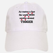 The World Revolves Around Tig Baseball Baseball Cap