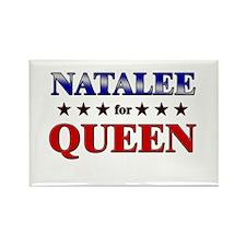 NATALEE for queen Rectangle Magnet