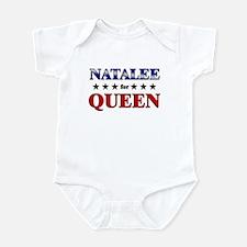 NATALEE for queen Infant Bodysuit