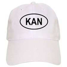 Saint Kitts & Nevis Oval Baseball Cap