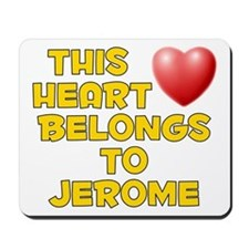 This Heart: Jerome (D) Mousepad