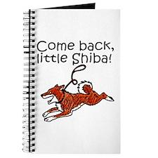 Come Back, Little Shiba Journal