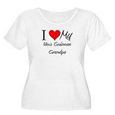 I Love My New Guinean Grandpa T-Shirt