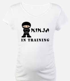 Brown Eyes Ninja In Training Shirt