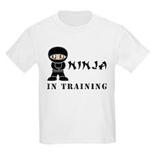 Brown Eyes Ninja In Training T-Shirt