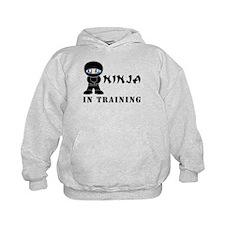 Blue Eyes Ninja In Training Hoodie