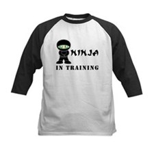 Green Eyes Ninja In Training Tee