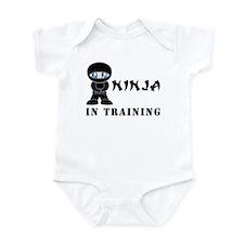 Blue Eyes Ninja In Training Infant Bodysuit