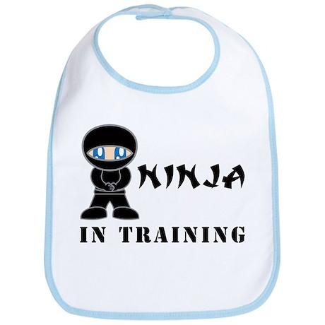 Blue Eyes Ninja In Training Bib