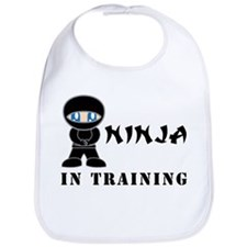 Blue Eyes Ninja In Training Bib