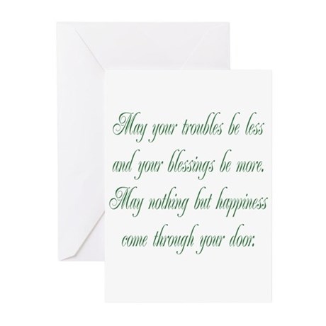 Irish Blessing Greeting Cards (Pk of 20)