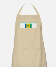 PROPERTY OF MY VINCENTIAN GIR BBQ Apron