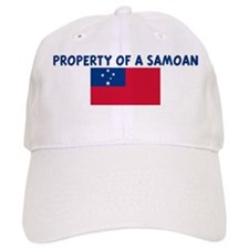 PROPERTY OF A SAMOAN Baseball Cap