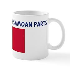 MADE IN US WITH SAMOAN PARTS Mug