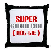 Super Garam Chai Hottie Throw Pillow