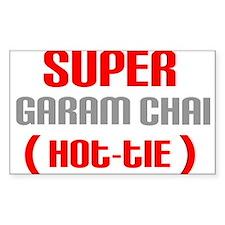 Super Garam Chai Hottie Rectangle Decal