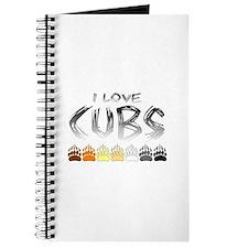 I Love Cubs Journal