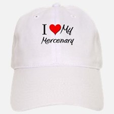 I Heart My Mercenary Baseball Baseball Cap