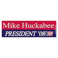 """Mike Huckabee for President"" Bumper Bumper Sticker"