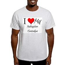 I Love My Malaysian Grandpa T-Shirt