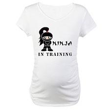 Girl Ninja In Training Shirt