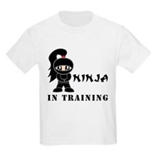 Girl Ninja In Training T-Shirt