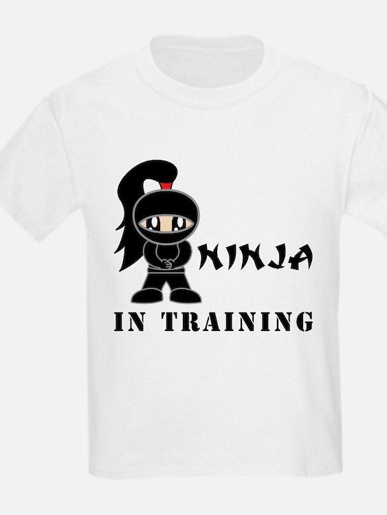 Girl Ninja In Training T-Shirt