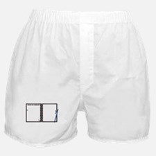 Moving Day Checklist Notepad Boxer Shorts