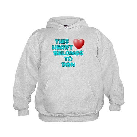 This Heart: Dan (E) Kids Hoodie