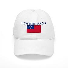 I LOVE BEING SAMOAN Baseball Cap
