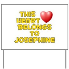 This Heart: Josephine (D) Yard Sign
