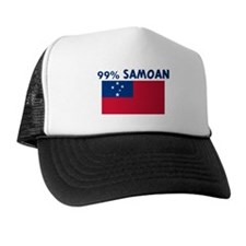 99 PERCENT SAMOAN Trucker Hat