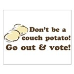 Go Out and Vote Poster (Small)