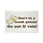 Go Out and Vote Rectangle Magnets (10 pk)