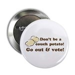 Go Out and Vote Button