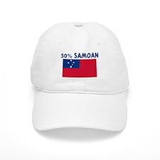 50 PERCENT SAMOAN Baseball Cap