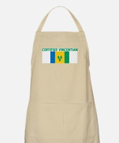 CERTIFIED VINCENTIAN BBQ Apron