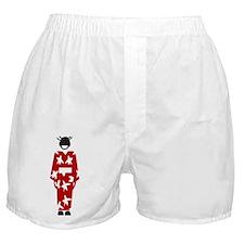 Japanese Woman Boxer Shorts