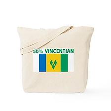 50 PERCENT VINCENTIAN Tote Bag