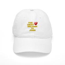 This Heart: Junie (D) Baseball Cap