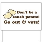 Go Out and Vote Yard Sign