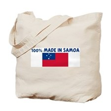 100 PERCENT MADE IN SAMOA Tote Bag