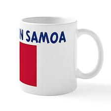100 PERCENT MADE IN SAMOA Mug