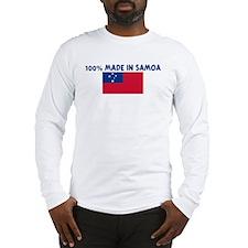 100 PERCENT MADE IN SAMOA Long Sleeve T-Shirt
