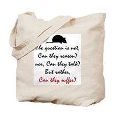 Can They Suffer? Tote Bag
