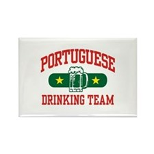 Portuguese Drinking Team Rectangle Magnet