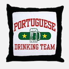 Portuguese Drinking Team Throw Pillow