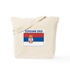 SERBIAN DAD Tote Bag