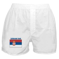 SERBIAN DAD Boxer Shorts