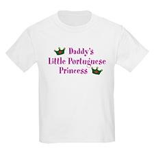 Daddy's Little Portuguese Princess T-Shirt